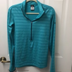 Nike pullover large turquoise